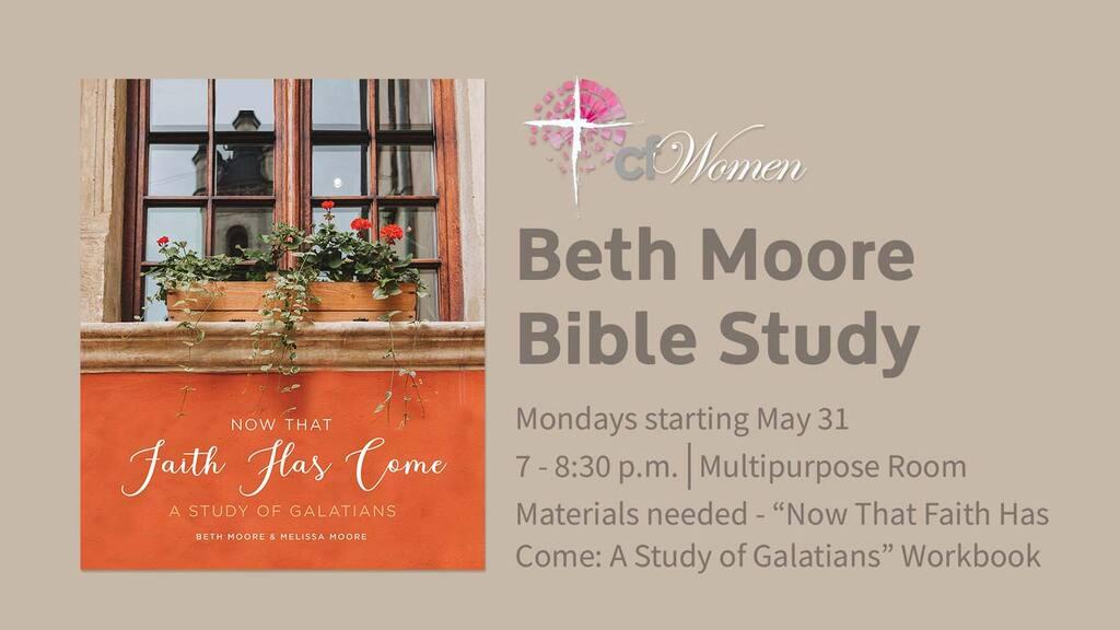 Beth Moore Women's Bible Study